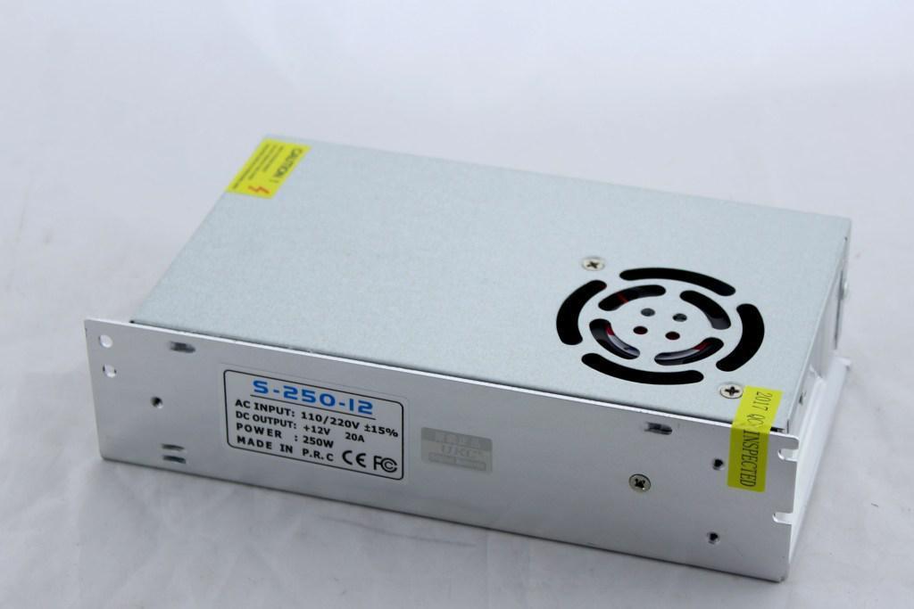 Блок питания, Адаптер 12V 30A METAL, Импульсный адаптер, Адаптер питания 12 вольт, блок питания 12 вольт