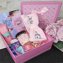 Подарочный набор уходовой корейской косметики для лица Pro Make Up №1