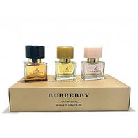 Наборы для женщин Набор Burberry 3 x 25 set (My Burberry + My Burberry Black + My Burberry Blush)  не оригинал