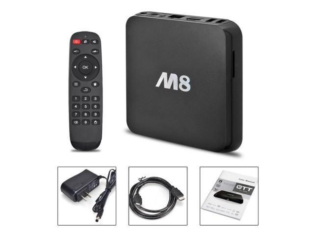 Смарт приставка Android TV Box M8S ULTRA HD/4K
