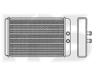 Печка Пежо Боксер 02-06 / PEUGEOT BOXER (2002-2006) Код: FP 54 N179-X