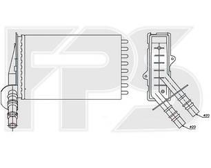 Печка Рено Клио II 98-05 / RENAULT CLIO/SYMBOL (1998-2008)