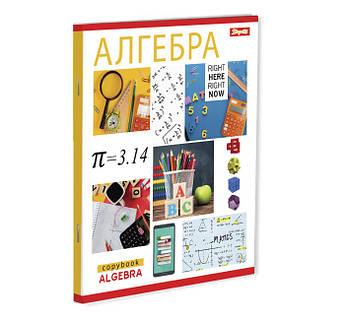 Тетрадь для записей А5/48 кл. 1В АЛГЕБРА (PATTERN), 5 шт/уп.