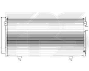 Радиатор кондиционера Субару Импреза 07-11 / SUBARU IMPREZA (2007-2011)
