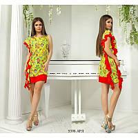 Женское яркое платье Распродажа (р. 42-48) 5398 АРЛ Код: 3746508