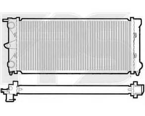 Радиатор Вольксваген Пассат B2 (1980-1988) / VOLKSWAGEN PASSAT B2 (1980-1988)