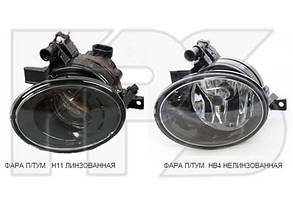 Правая фара противотуманная Вольксваген Туарег II под лампу hb4 без лампы / VOLKSWAGEN TOUAREG II (2010-)
