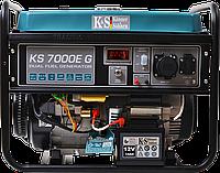 Бензиновый генератор KS 7000E G Гибрид:бензин/газ  (5,5кВт) - Германия