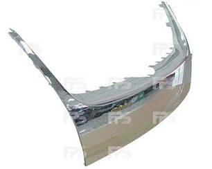 Решетка Вольксваген Жетта V в капоте: хром. накладка нижняя / VOLKSWAGEN JETTA V (2005-2010)