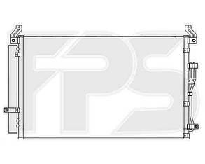 Радиатор кондиционера Хюндаи Веракруз 07-12 / HYUNDAI IX55 VERACRUZ (2008-2013)
