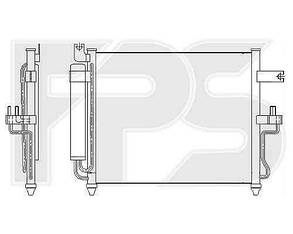 Радиатор кондиционера Хюндаи Акцент (1999-2005) / HYUNDAI ACCENT (1999-2005)