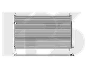 Радиатор кондиционера Акура MDX 06-13 / ACURA MDX (2006-2013)