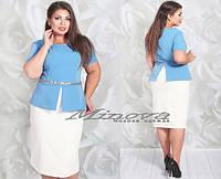 Платье: блуза + юбка, фото 1