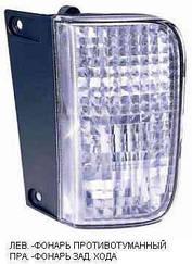 Правый задний фонарь Опель Виваро 01-14, в бампере, функция заднего хода / OPEL VIVARO I (2001-2014)