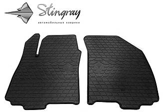 Коврики в салон Передние Stingray для Chevrolet Aveo T300 2011-