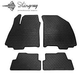 Коврики в салон Chevrolet Aveo T300 2011- Stingray.