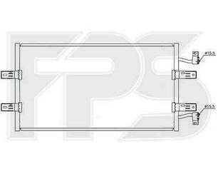 Радиатор кондиционера Опель Виваро 07- / OPEL VIVARO I (2001-2014)