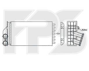 Печка Ситроен C4 05- / CITROEN C4 (2005-2010)