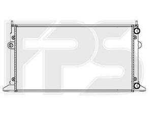 Радиатор Сиат Альхамбра 95-09 / SEAT ALHAMBRA (1995-2009)