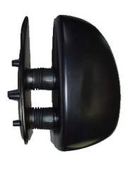 Левое зеркало Ситроен Жампер -06 ручной привод; без обогрева; текстура; выпуклое; short arm 99- / CITROEN JUMPER (1994-2002)