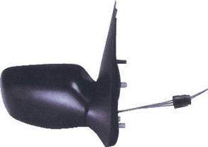 Левое зеркало Форд Фиеста -01 механический привод; без обогрева; выпуклое / FORD FIESTA (1996-2001)