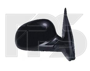 Левое зеркало Хонда Цивик 92-95 механический привод; без обогрева; выпуклое / HONDA CIVIC (-1995)