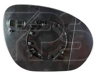 Левый вкладыш зеркала Ниссан Жук 10- с обогревом выпуклый / NISSAN JUKE (2010-)