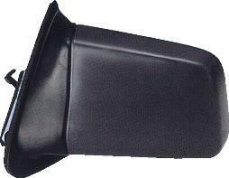 Левое зеркало Опель Кадет E -91 механический привод; без обогрева; под покраску; плоское / OPEL KADETT E (1985-1991)