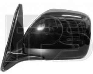 Левое зеркало Тойота Ланд Крузер J100 электрический привод; без обогрева; складывающееся; под покраску; выпуклое / TOYOTA LAND CRUISER J100