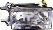 Правая фара Ауди 80 h4 с рамкой год 1984-86 / AUDI 80 B2 (1978-1986)