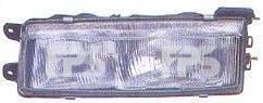 Правая фара Митсубиши Ланцер VI 89-91 (2 лампы) / MITSUBISHI LANCER VI (1989-1991)