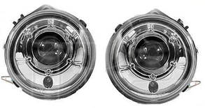 Левая и правая фара Мерседес G-Class W463 хром / MERCEDES G-Class W463 (2007-2012)