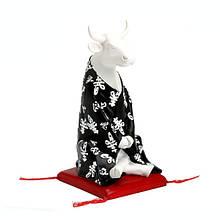 Колекційна статуетка корова Meditating