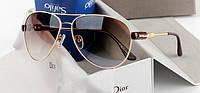 Солнцезащитные  очки Dior So Real коричневые 2878, фото 1