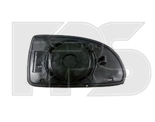 Правый вкладыш зеркала Хюндаи Гетц 02-11 без обогрева выпуклый / HYUNDAI GETZ (2002-2011)