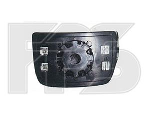 Левый вкладыш зеркала Ивеко Дейли -11 с обогревом выпуклый нижний / IVECO DAILY (2006-2011)