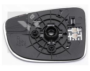 Левый вкладыш зеркала Мазда CX-5 с обогревом асферический / MAZDA CX-5 (2012-)