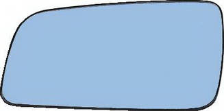 Левый вкладыш зеркала Опель Астра G без обогрева асферический / OPEL ASTRA G (1998-2010)