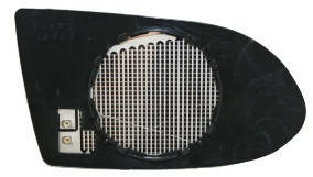 Левый вкладыш зеркала Опель Зафира -05 с обогревом асферический 99-02 / OPEL ZAFIRA A (1999-2005)
