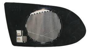 Правый вкладыш зеркала Опель Зафира -05 с обогревом выпуклый 99-02 / OPEL ZAFIRA A (1999-2005)