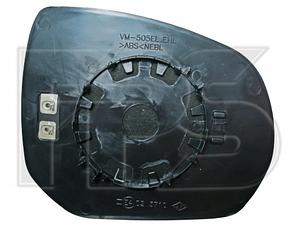 Правый вкладыш зеркала Пежо 3008 / PEUGEOT 3008 (2009-)