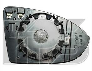 Левый вкладыш зеркала Вольксваген Гольф VII / VOLKSWAGEN GOLF VII (2013-)