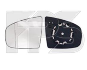 Правый вкладыш зеркала БМВ X5 E70 с обогревом асферический 4 pin / BMW X5 E70 (2006-2013)