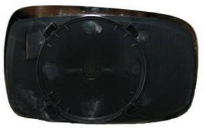 Левый вкладыш зеркала Форд Мондео -96 без обогрева выпуклый / FORD MONDEO I (1993-1996)