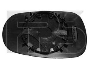 Левый вкладыш зеркала Рено Клио 01-05 без обогрева асферический / RENAULT CLIO/SYMBOL (1998-2008)