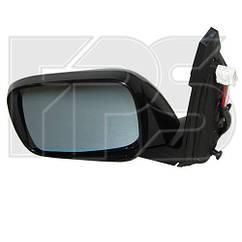 Левое зеркало Акура MDX 06- электрический привод; с обогревом; под покраску; выпуклое; с указ. поворота; без подсветки / ACURA MDX (2006-2013)