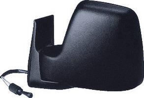 Левое зеркало Фиат Скудо -06 механический привод; без обогрева; текстура; выпуклое / FIAT SCUDO (1996-2003)