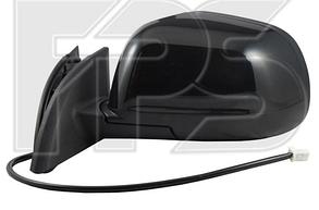Правое зеркало Ниссан LEAF электрический привод; с обогревом; под покраску; выпуклое / NISSAN LEAF (2011-)