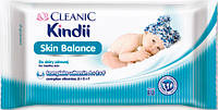 Влажные салфетки Cleanic Kindii Skin Balance 72 шт, фото 1