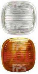 Левый (правый) указатель поворота Шкода Рапид на крыле белый без лампы / SKODA RAPID (2012-)